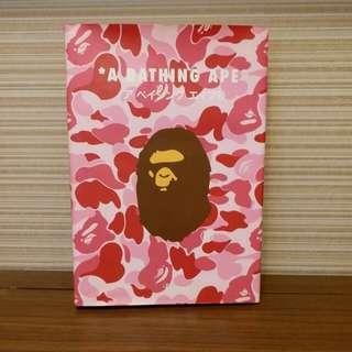 A Bathing Ape 英文版特集 。 2014年購於英國