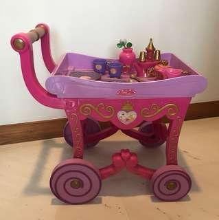 Disney Princess Aurora Tea Set with Trolley