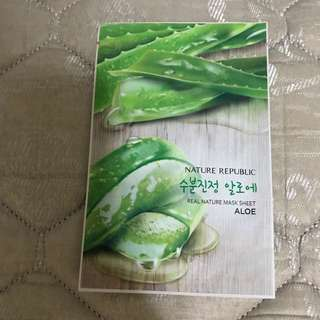 Nature Republic Masks x 2
