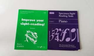Grade 2 Piano Sight-Reading Books