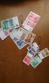 人民幣吊飾