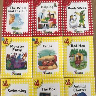 Jolly Phonics 9 storybooks
