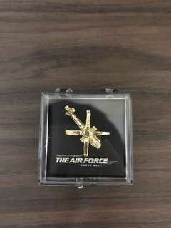 RSAF Helicopter Golden Pin