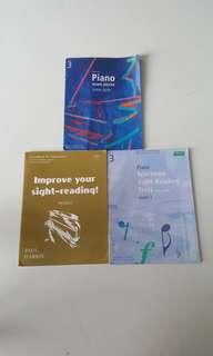 Grade 3 Piano Pieces and Examination Workbook