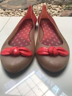Mel by Melissa jelly gradation flatshoes
