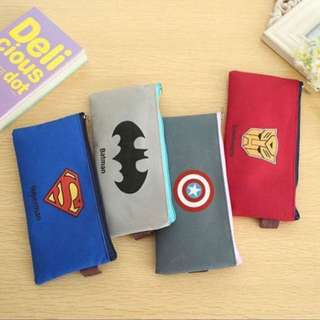 Super Heroes Pencil Case