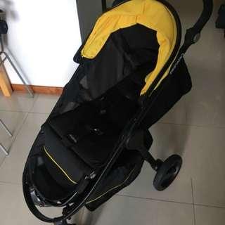 Recaro Citylife + Privia car seat + Adaptors