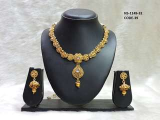 Gold toned neckless
