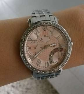 Casio Sheen Crystal pink watch女装錶