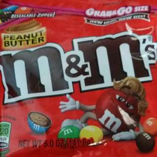 M&M chocolate 141g package
