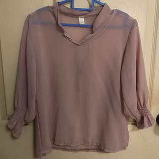 Dusty Pink Top (MAILED)