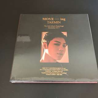 Instock Sealed. Taemin Move-ing Repackaged