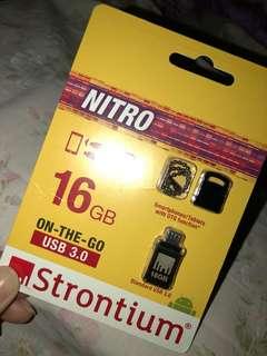 Strontium Nitro 3.0 OTG 16GB