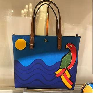 Pre-order: TORY BURCH PARROT TOTE