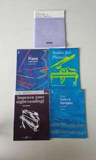 Grade 4 Piano Pieces and Examination Workbooks