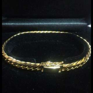 Japan Gold Bracelet 30.3 Grams