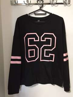 62 Long-sleeved Shirt in Black