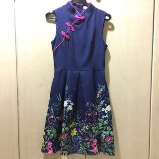 Brand New Modern Cheongsam Dress