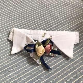 Handmade Fake Collar Bling Floral Collar
