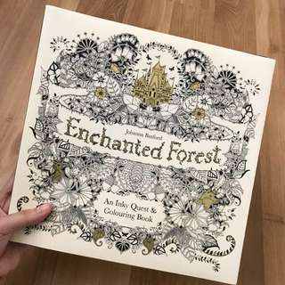 Enchanted Forest Colouring Book 🌳🌴
