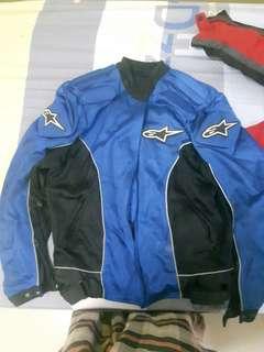 Alpinestar Jacket, Gloves and knee guard