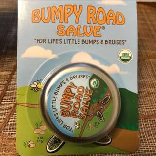Bumpy road salve