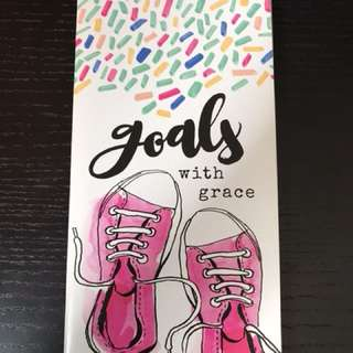 Illustrated Faith devotional booklet - goals with grace