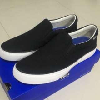 Keds Black Loafers Anchor slip-on