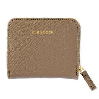 日本&ROSY雜誌附錄 ELENDEEK 銀包 短夾 皮夾 收納包 票夾 卡包 拉鍊零錢包