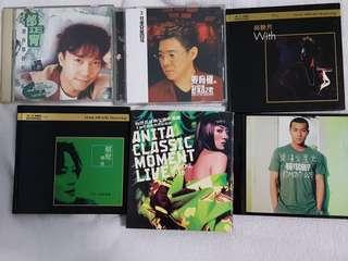 5张CD华語和粤語齊售