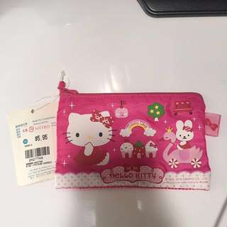 Hello Kitty Pencil case and coin pouch