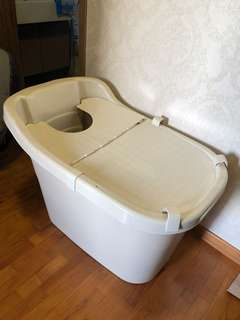 Onsen Hot bath Tub plastic