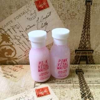 Pink Vital Water Facial Toner + Emulsion