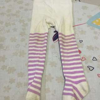 legging strip purple