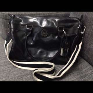 Authentic Longchamp patent leather bag