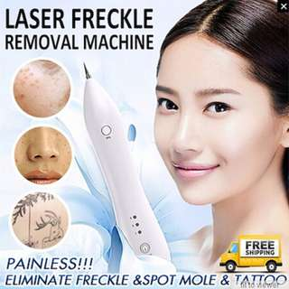KONMISON Laser Freckle Removal Machine Painless Spot Mole Tattoo Wart Speckle Remover Pen Beauty