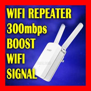 New Wireless WIFI Repeater to boost wifi signal coverage - with 🔴easy to follow video setup guide🔴