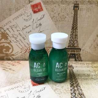 AC CLEAN UP Toner + Gel Lotion
