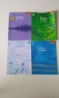Grade 6 Piano Pieces and Examination Workbooks