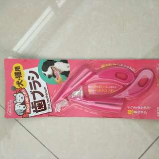 Toothbrush for puppies
