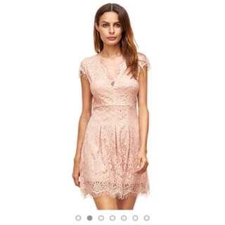 PO LACE DRESS (different colors avail)