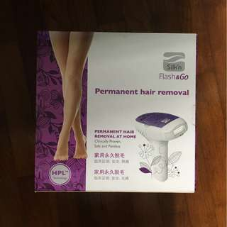 Clariancy Silk'n Permanent Hair Removal