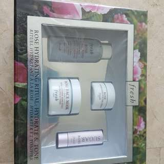 Fresh Rose Hydrating Ritual Set