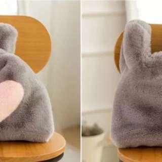 fluffy fun lunch bag
