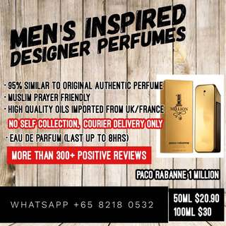 Paco Rabanne 1 Million @ $22.90