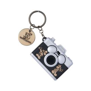 Tokyo Disneysea Disneyland Disney Resorts Sea Land 35th Anniversary Mickey Mouse Camera type Keychain Preorder