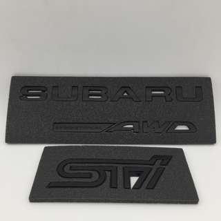 Special Black Series STi for  Forester  XT/ Premium, XV, Outback AWD
