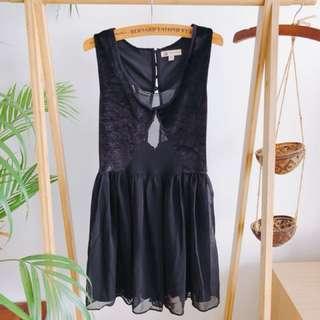 Sexy Black Short Dress