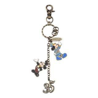 Tokyo Disneysea Disneyland Disney Resorts Sea Land 35th Anniversary Mickey Mouse Keychain Preorder