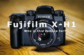 Fujifilm X-H1 Body / Fujifilm X-H1 VPB-X-H1 Kit